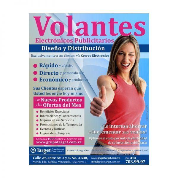 Volantes Media Carta / Flyers Institucionales