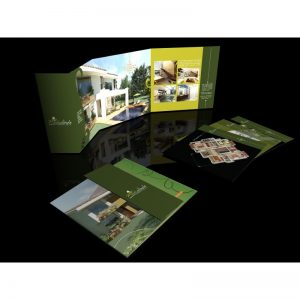 Brochure 66x28 cms